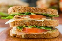 2 Sándwich de Pavo