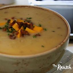 Sopa de Baked Potato (Papa al Horno)