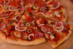 pizza especial Juanelos