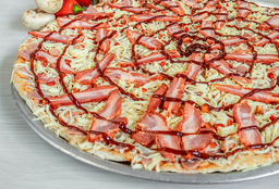 Pizza Familiar Costillas a la Bbq