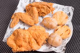 Cuarto de pollo