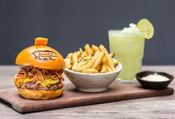 BBQ Crispy Burger Combo