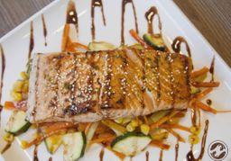 Filete de Salmón Teriyaki