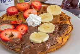 Waffle Nutella y/o Arequipe