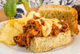 Sándwich Carne Desmechada