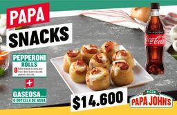 Combo 5 Papa Snacks Rappi