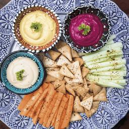 Trio de Hummus