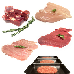 Meat Box Hogar Carne Mixta 32 U