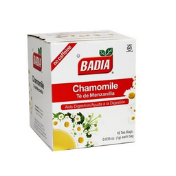 Té de Manzanilla Badia 1 g x 10