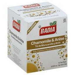 Té de Manzanilla y Anís Badia 1 g x 10