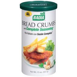 Pan Rallado Badia Sazón Completa 425 g