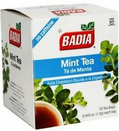 Té de Menta Badia Pack 10 x 1 g