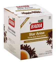 Té de Anís Badia Estrellado Pack 10 x 1 g