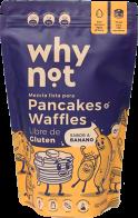 Mezcla Para Pancakes Y Waffles Sabor A Banano 300 G