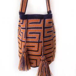Mochila wayuu grande de diseño