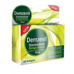 Demzenil Ginkgo Biloba 80 Mg Caja x 60 Softgels