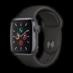 Apple Watch S5 44 Sg Al Bl Sp Gps-Lae