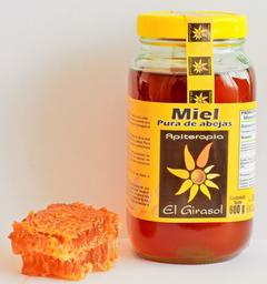 Miel de Abeja El Girasol Pura 600 g