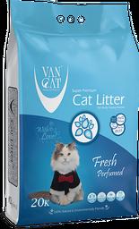 Arena sanitaria para gatos Van Cat Estándar Fragancia Primavera