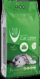 Arena sanitaria para gatos Van Cat Compact - Fragancia Aloe Vera
