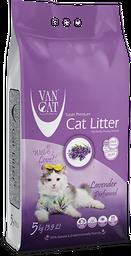 Arena sanitaria para gatos Van Cat Compact - Fragancia Lavanda