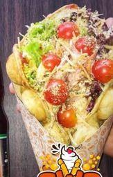 Bubble Waffle Salado
