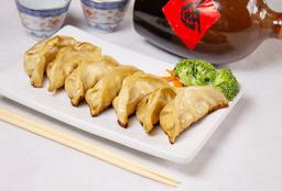 Golden Fried Meat Dumpling