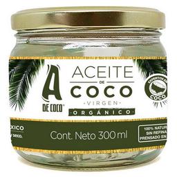 Aceite De Coco Organico A De Coco