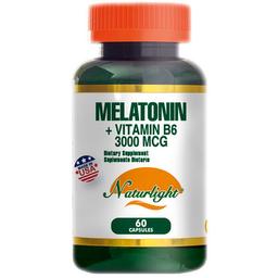 Melatonin mas Vitamina B6