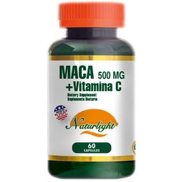 Maca 500mg mas Vitamina C