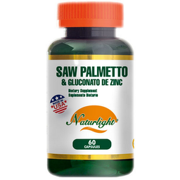 Saw Palmetto and Gluconato de Zinc