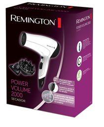 Secador Remington Con Iones Y Cerámica Blanco D3015