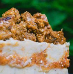 Cayeye con Carne Goulash