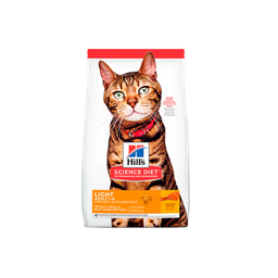 Hill's Science Diet Adult Light gato 4lb