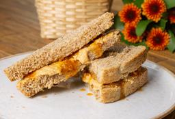 Sándwich de Mantequilla de Maní