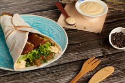 2x1 Shawarma Vegetariano (Falafel)