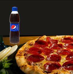 Promoción Pizza Personal y Gaseosa