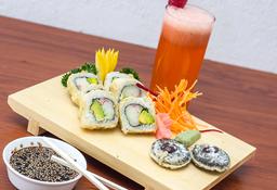 No te quedes con las ganas 🍣  Sushi + Limonada