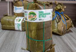 Tamales Santandereanos Pequeños Pollo