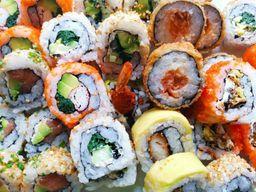 Sushi Familiar de 60 Bocados