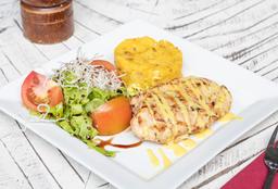 Pollo en Mostaza y Limón