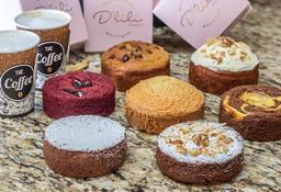 Torta Pequeña +  2 Cafés