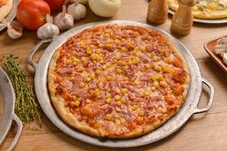 Pizza de Maíz y Tocineta