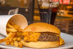 Combo BKD Cheese Burger