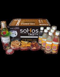 Tanqueray Tonic con Tónica Canada Dry 15 Cocteles