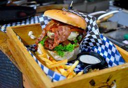 ¡Combo! Hamburguesa Super Bacon + Gaseosa