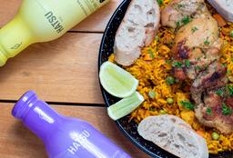 Promo Paella de Carnes para Compartir