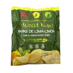 Monte Rojo Papas Lima Limon X 6