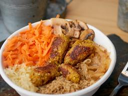 Ensalada Falafel y Quinoa