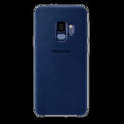 Carcasa Galaxy S9 Samsung Alcantara cover - Azul